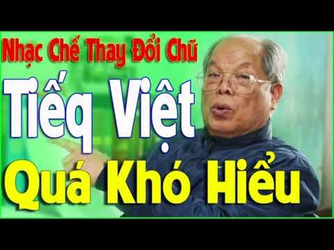 Nhạc Chế Trách PGS Bùi Hiền - Tiếng Việt Mới