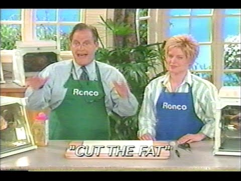 Ronco Showtime Rotisserie infomercial (2001 Version)