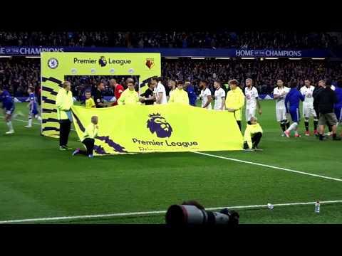 2017 Guard of Honour at Stamford Bridge (again) - Chelsea champions!