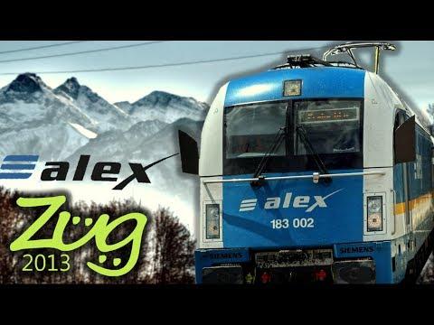 Zug2013: alex - Dokumentation | Geschichte, Zukunft, Wagen, Loks u.v.m. | Taurus, Eurorunner 20