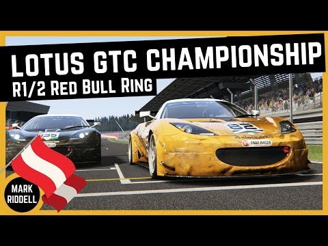 Lotus Evora GTC Championship - Rounds 1 + 2 @ Red Bull Ring   Assetto Corsa