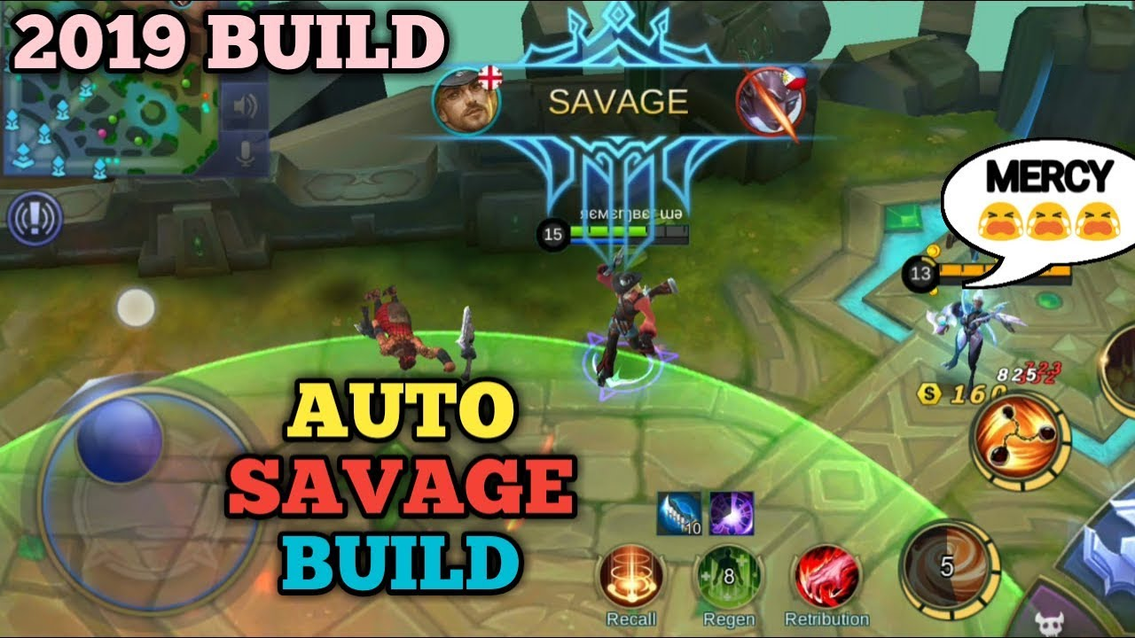 auto savage build | 2019 build | mobile legends - youtube