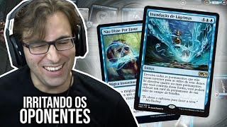 Irritando os Coleguinhas com um Deck Azul Chatíssimo! | Magic The Gathering Arena Gameplay