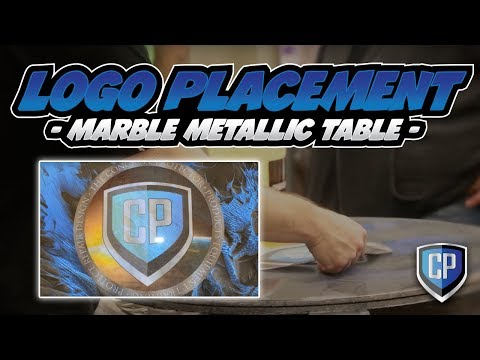 Metallic Marble  - Table Logo