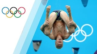 3m springboard belly flop dive