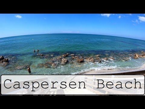 Caspersen Beach Venice Florida Vlog GoPro with Ian