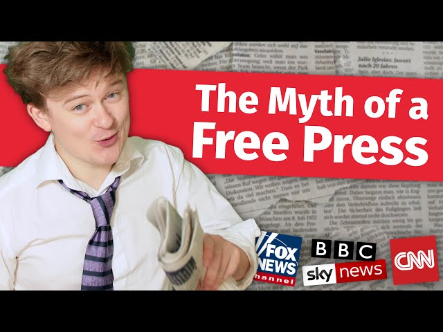 The Myth of a Free Press: Media Bias Explained | Tom Nicholas