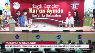 Yaz kursları başladı - TRT DİYANET 2017 Video