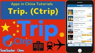 Trip (Ctrip) - Chinese Travel App Guide. Book Trains, Hotels and Flight Easily. screenshot 1