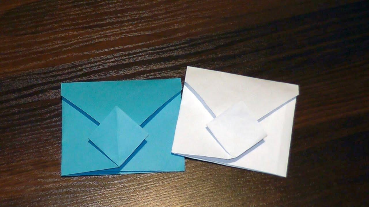 Для маленьких, открытка из тетрадного листа