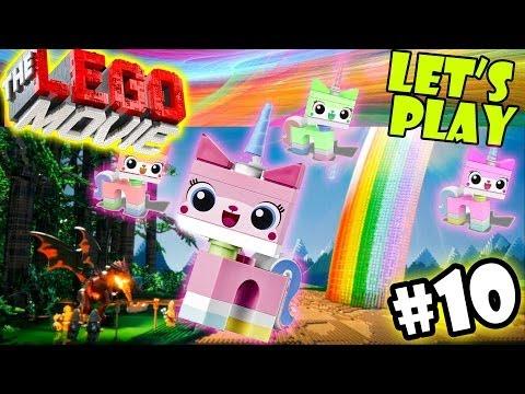 Let's Play LEGO Movie - Part 10: Cloud Cuckoo Land w/ UniKitty & Bat Man | Walkthrough/Commentary
