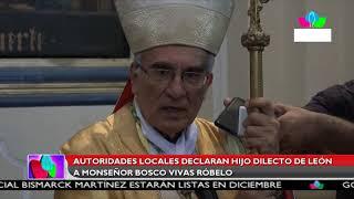 Multinoticias | Declaran hijo dilecto de León a monseñor Bosco Vivas Róbelo