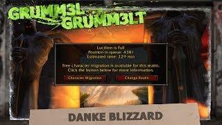 Danke Blizzard    Warteschlangen in World of Warcraft Classic