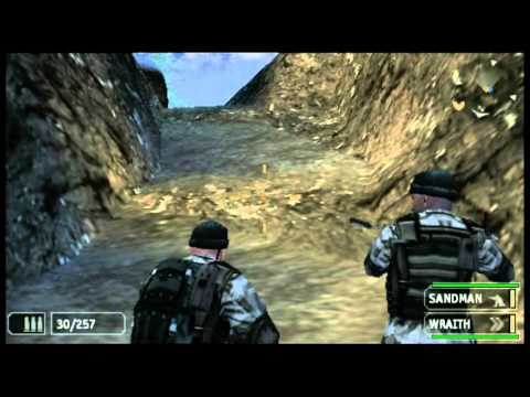 SOCOM: Fireteam Bravo 2 (PSP) PlayStation TV Gameplay