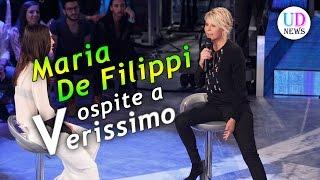 Verissimo: Silvia Toffanin intervista Maria De Filippi ad Amici!