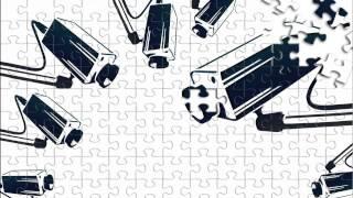 Freie Meinung Überwachung ist wie ein Puzzlespiel