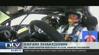 WRC Safari Rally starts with the shakedown in Naivasha