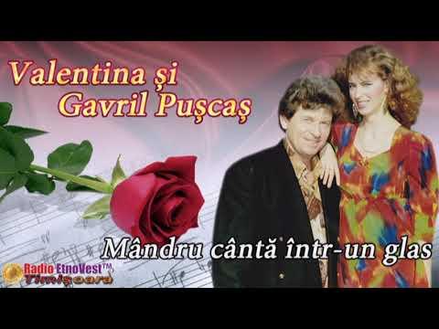 Valentina si Gavril Puscas - Mandru canta intr-un glas