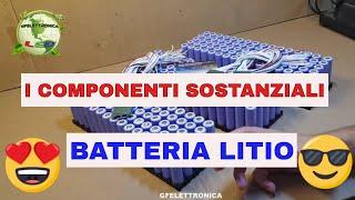 I COMPONENTI SOSTANZIALI DI UNA BATTERIA LITIO IONI - AUTO MOTO SCOOTER BICI MONOPATTINO