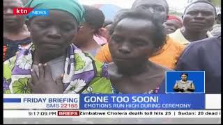 Sharon Otieno\'s unborn child laid to rest