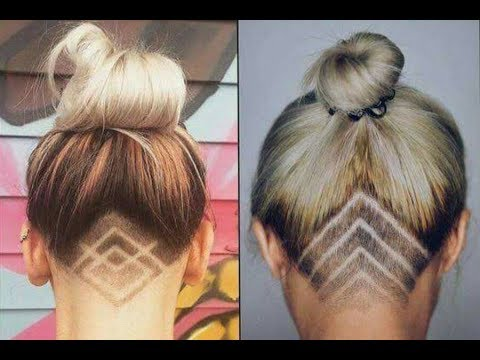 Undercut Tattoos Are The Trend Of Summer New Trend Hairstyle Tattoo