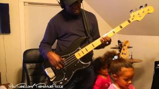 Hues Corporation - Rock The Boat (Bass Cover)