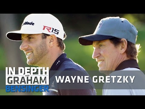 Wayne Gretzky: My stomach hurts when Dustin Johnson putts