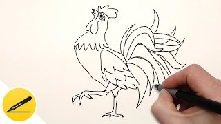 Как Нарисовать Петуха ребенку | Рисуем Петуха поэтапно(Как нарисовать Петуха ребенку. В этом видео я показываю как рисовать Петуха (символ 2017 года по китайскому..., 2016-10-19T10:48:26.000Z)