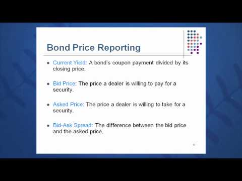 Session 07: Objective 5 - Bond Markets