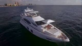 2016 Azimut 84 Flybridge Yacht For Sale at MarineMax Pompano Yacht Center