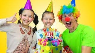 Happy Birthday Song Emi & Niki Sing-Along Nursery Rhymes & Kids Song by Miss Emi