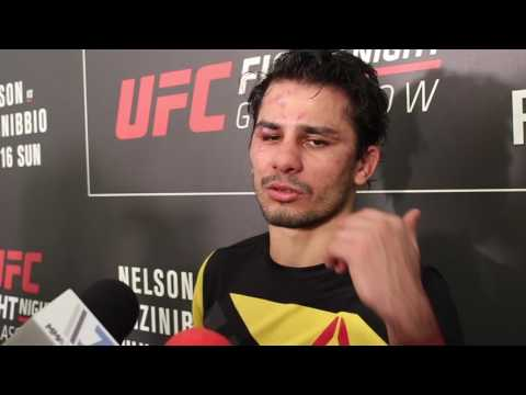 Post-Fight Interview with Alexandre Pantoja at UFC Glasgow