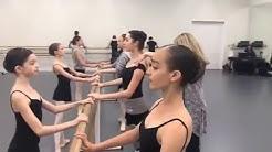 Ballet Class at Master Ballet Academy Live Stream w/ Dance Spirit Magazine