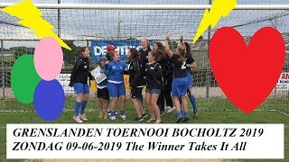 HD 720 Grenslanden vrouwenvoetbal toernooi Bocholtz  zondag 09-06-2019