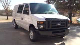 hd video 2013 ford econoline e150 cargo work van for sale see www sunsetmotors com