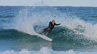 Kelly Slater And His '5 Fin' Webber At D Bah