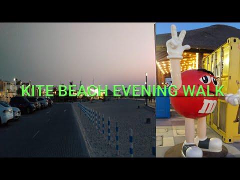 Kite Beach, Dubai |Evening Walk |Jumeirah