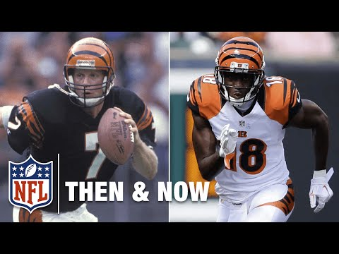 Boomer Esiason & A.J. Green | Bengals | NFL Then & NFL Now