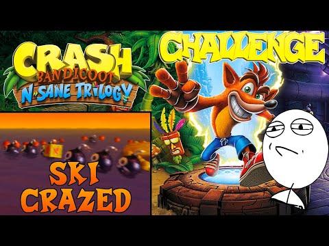 Let's Challenge Crash Bandicoot N. Sane Trilogy (Ski Crazed): Platin-Relikt | 0:34:84