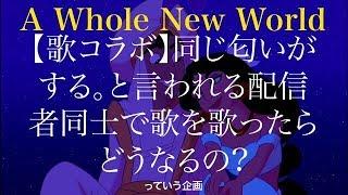 アラジン【A Whole New World】デュエットソング みの軍曹
