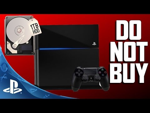 Do NOT Buy 1TB PS4 ⋆WARNING⋆