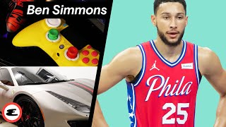 Ben Simmons Opens His Home & Gaming Setup | Curated | Esquire