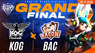 Road to Glory 2020 Playoffs Round | Grand Final