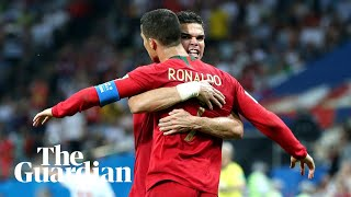 Portugal 'privileged' to have Cristiano Ronaldo at World Cup, says Pepe