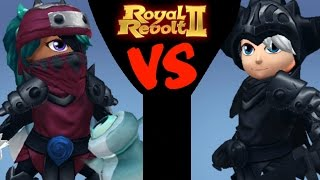 ROYAL REVOLT 2 - TOP 1 vs TOP 2 PLAYER IN THE WORLD