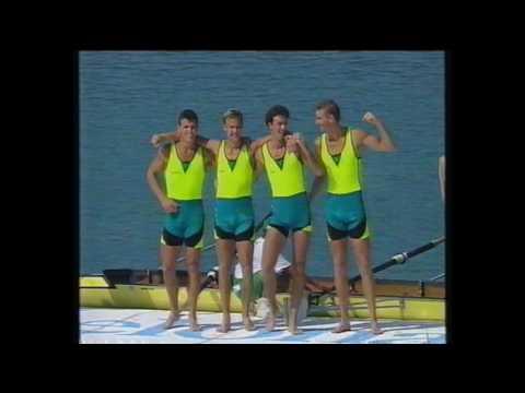 1992 Summer Olympics Barcelona _ Oarsome Foursome