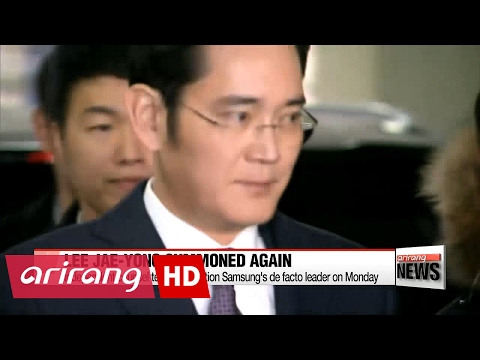Special prosecutors to question Samsung chief Lee again over bribery allegations