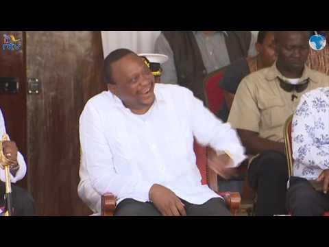 Governor Joho cracks up Uhuru