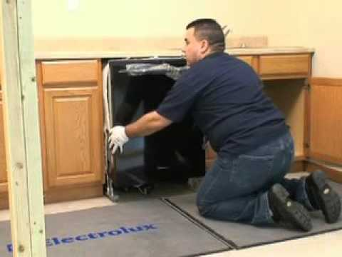 Frigidaire Dishwasher Installation