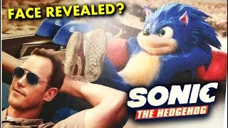 Sonic's Face Revealed With Chris Pratt Early Concept - Sonic Movie 2019